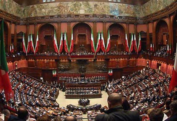 Il Parlamento italiano in seduta comune