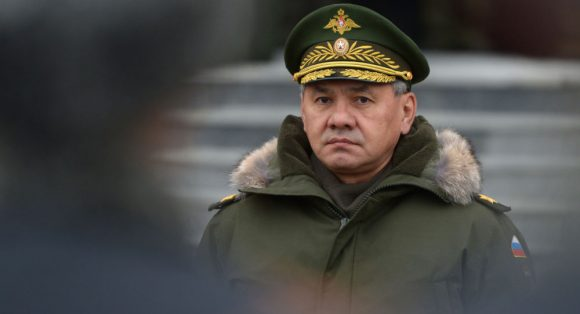 ministro della difesa, Sergei Shoygu