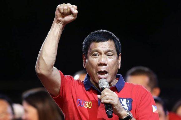 Il Presidente delle Filippine Duterte