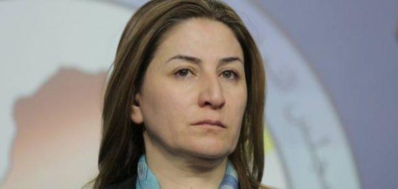 La deputa irachena Vian Dhakil, per la'Alleanza Kurda