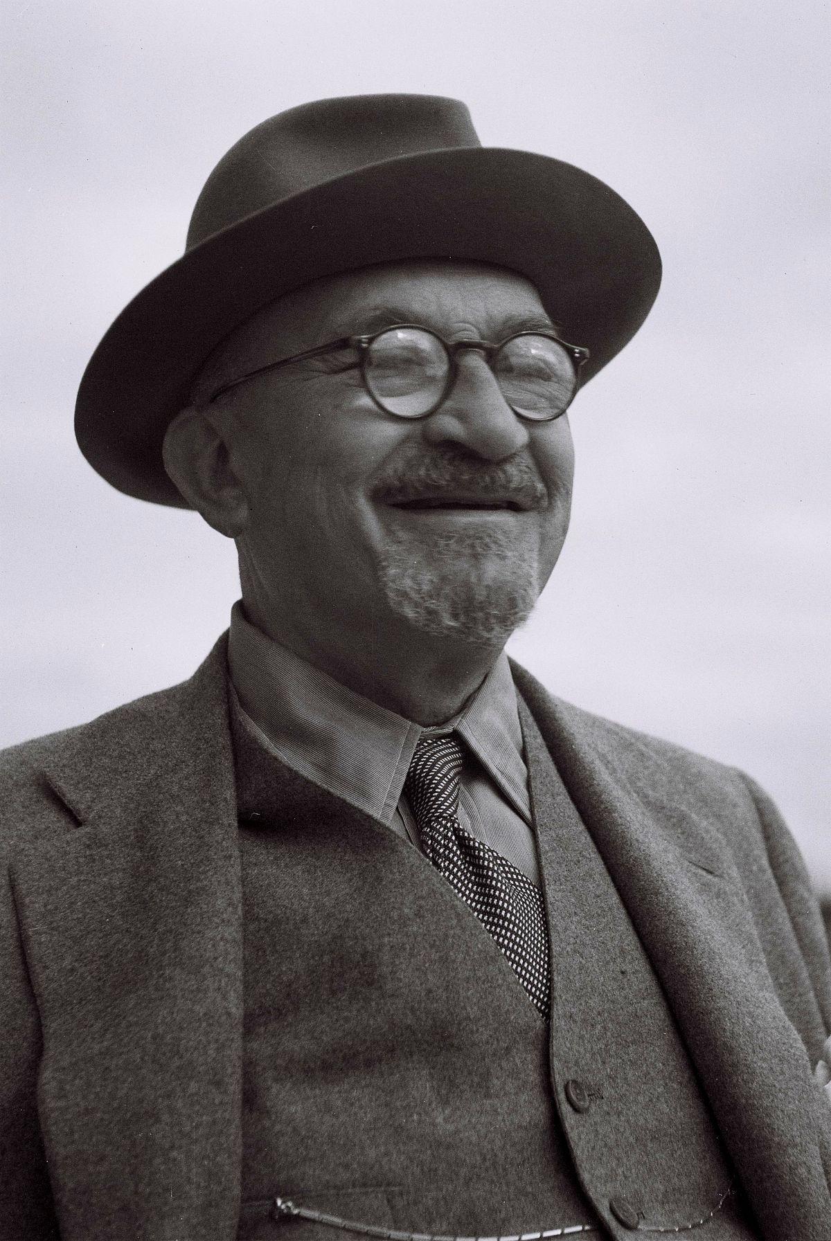 Chaim Weizmann. (Fonte: Wikipedia)