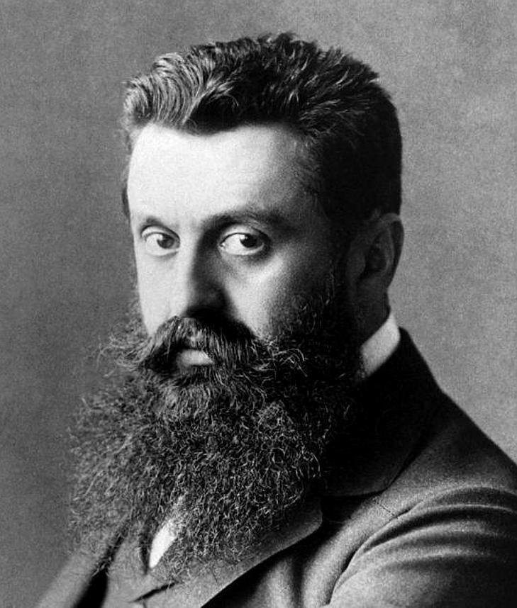 Theodor Herzl (Fonte: Wikipedia)