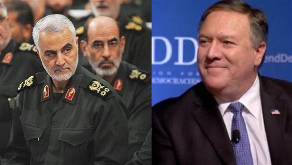 Il generale Suleiman e Mike Pompeo