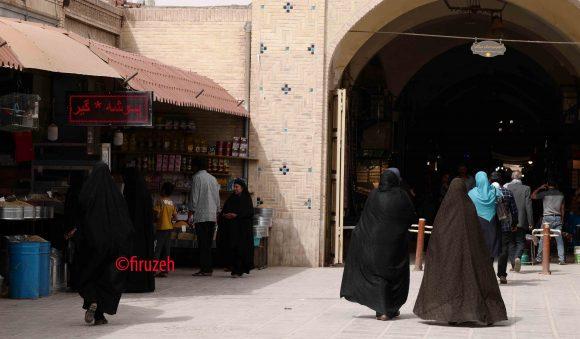 Ingresso del bazar di Kerman (photo ©firuzeh)