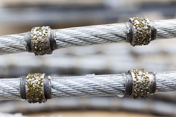 Il filo diamantato.