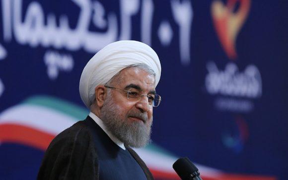 IL presidente dell'Iran Rohani