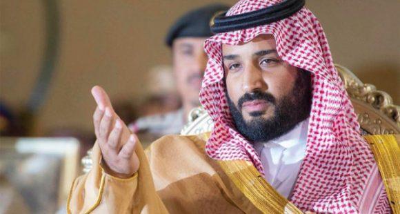 l Principe ereditario dell'Arabia Saudita, Mohammad Bin Salman