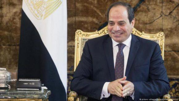 Il Presidente dell'Egitto Fattah Abdel Al Sisi